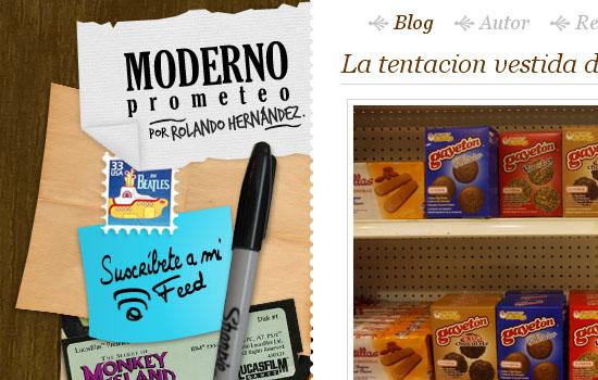 Moderno Prometeo, escrito por Rolando Hernandez - Screenshot