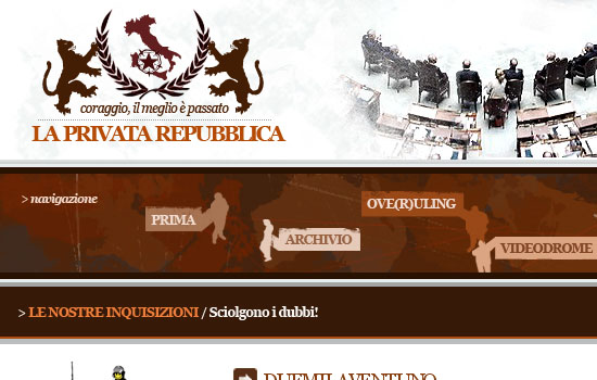 La Privata Repubblica - Screenshot