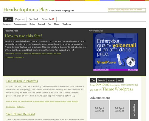 The Box teme/theme for WordPress