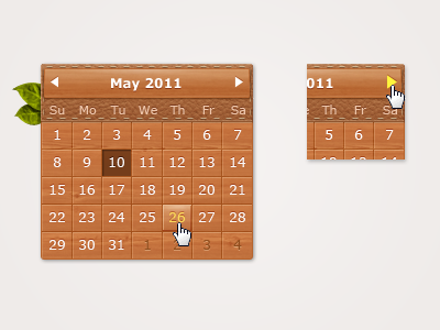 calendar21 60 User Interface Calendar Inspirations and Downloads