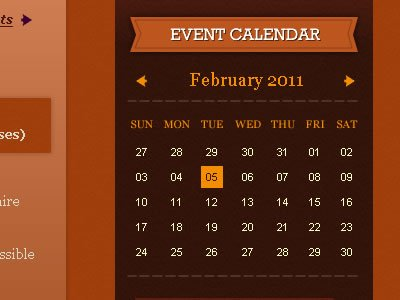 shot 12968344111 60 User Interface Calendar Inspirations and Downloads