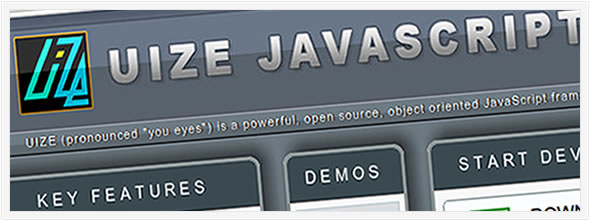 uize javascript Framwork