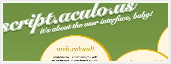 Script.aculo Javascript Framwork