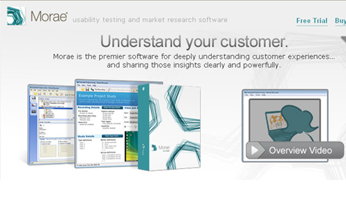 morae 25 Tools to Improve Your Websites Usability