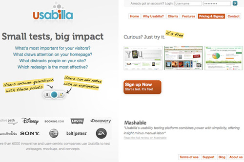 usabilla 25 Tools to Improve Your Websites Usability