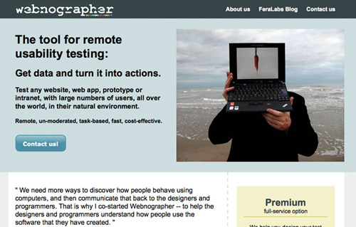 webnographer 25 Tools to Improve Your Websites Usability