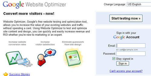 websiteoptimize 25 Tools to Improve Your Websites Usability