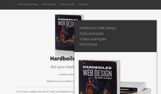 Hardboiled Webdesign