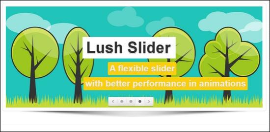 Lush – Content Slider