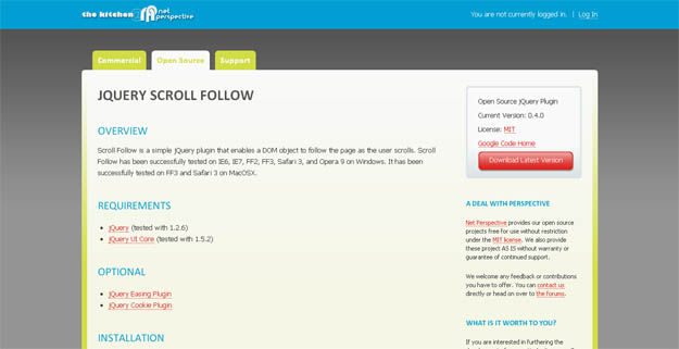 scroll-follow